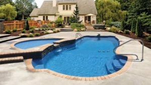 Latham Fiberglass In Ground Swimming Pools in Kingston NY, Ulster County, Hudson Valley