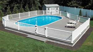 Semi In Ground Pools in Kingston NY, Ulster County, Hudson Valley